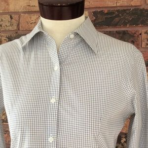Brooks Brothers 2P XS Button Front Check Shirt